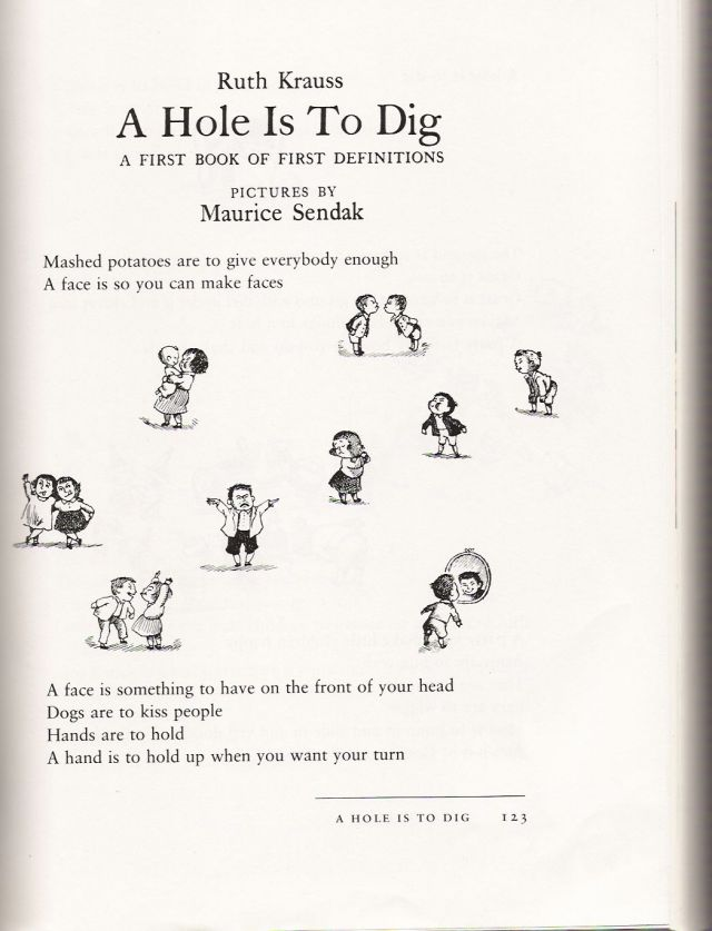 A HOLE IS TO DIG PDF